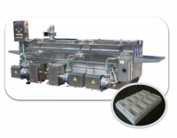 Automatic Cheese Product Cast Washing Machine in the form of a tunnel PLK-4000