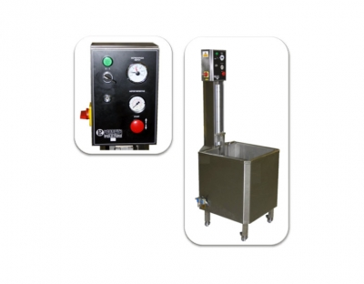SEMI – AUTOMATIC CHEESE WAXING MACHINEOperates with electrical power & pneumatic circuit P-35