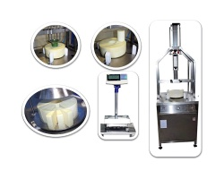 """Chopping Machine for the removal of the """"heart"""" of hard cheese wheels CR-20"""