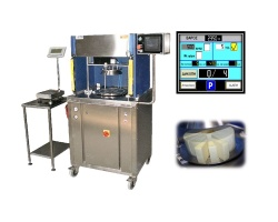 Automatic machine for the chopping of hard cheese wheels RCC-40